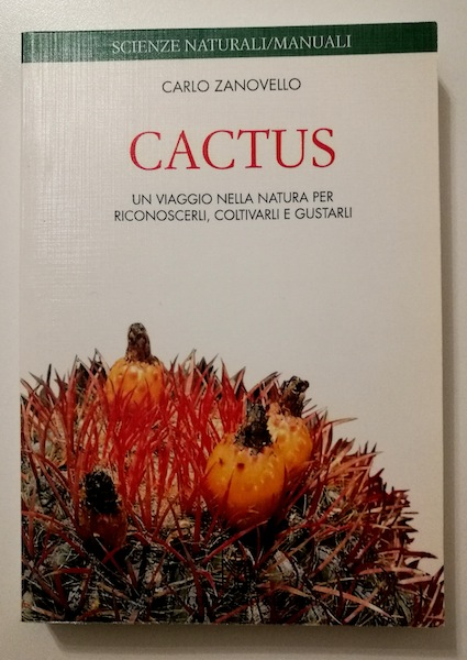 La copertina del libro Cactus di Carlo Zanovello