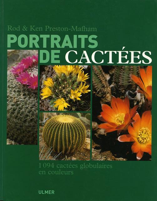 La copertina del volume Portrait de cactées