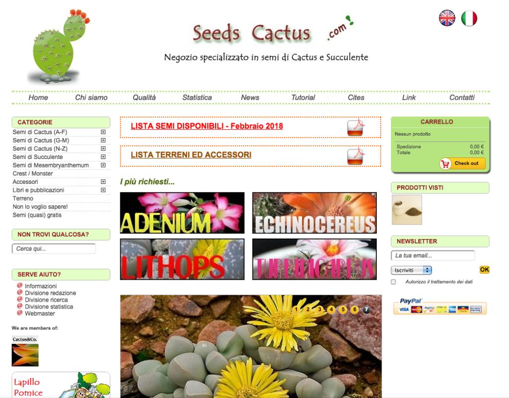 Seeds Cactus