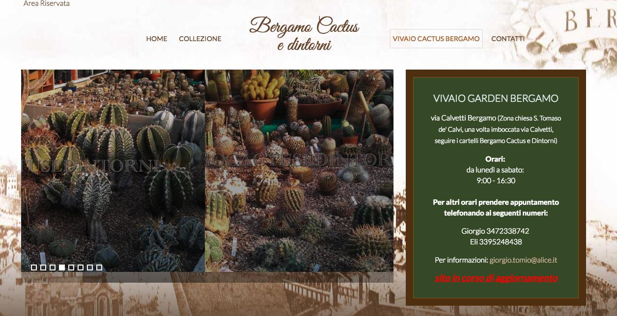 Bergamo Cactus e dintorni