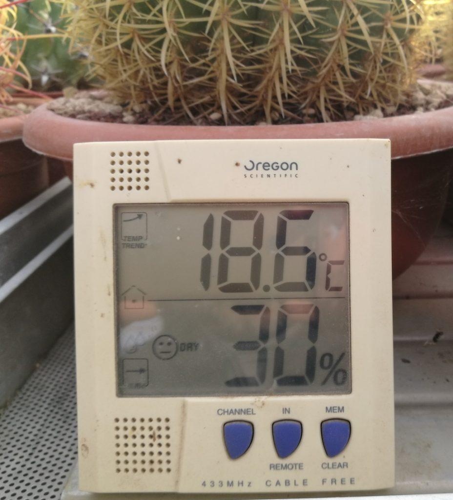 Temperatura attuale